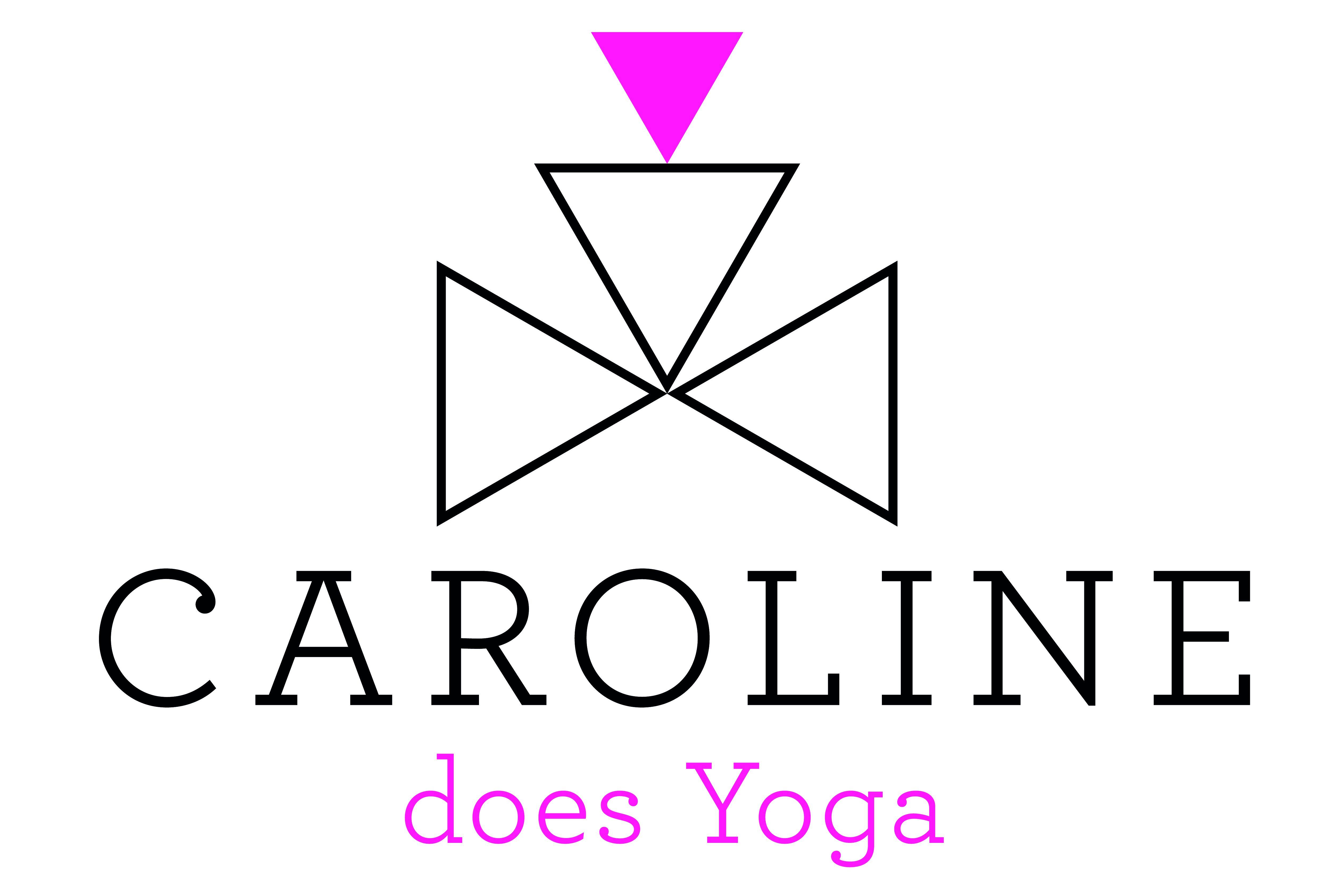 Caroline does Yoga